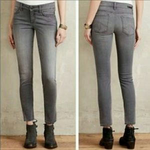 {ANTHROPOLOGIE} Level 99 Lily Crop Skinny Jeans